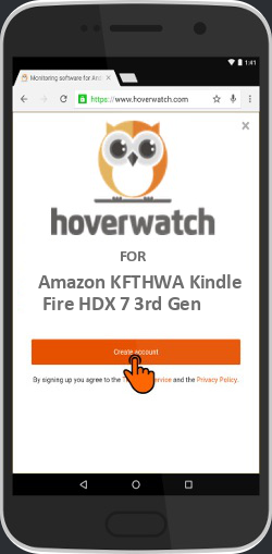 Spy on Phone Calls Free for Amazon KFTHWA Kindle Fire HDX 7 3rd Gen