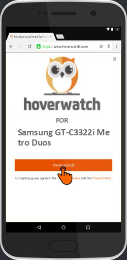 Spy Mobile Phone Number Free for Samsung GT-C3322i Metro Duos