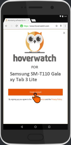 Spy Cell Phone Free Online for Samsung SM-T110 Galaxy Tab 3 Lite