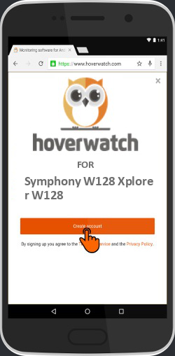Free Spy Phone Tracker for Symphony W128 Xplorer W128