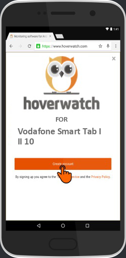 Windows Service Keylogger for Vodafone Smart Tab III 10
